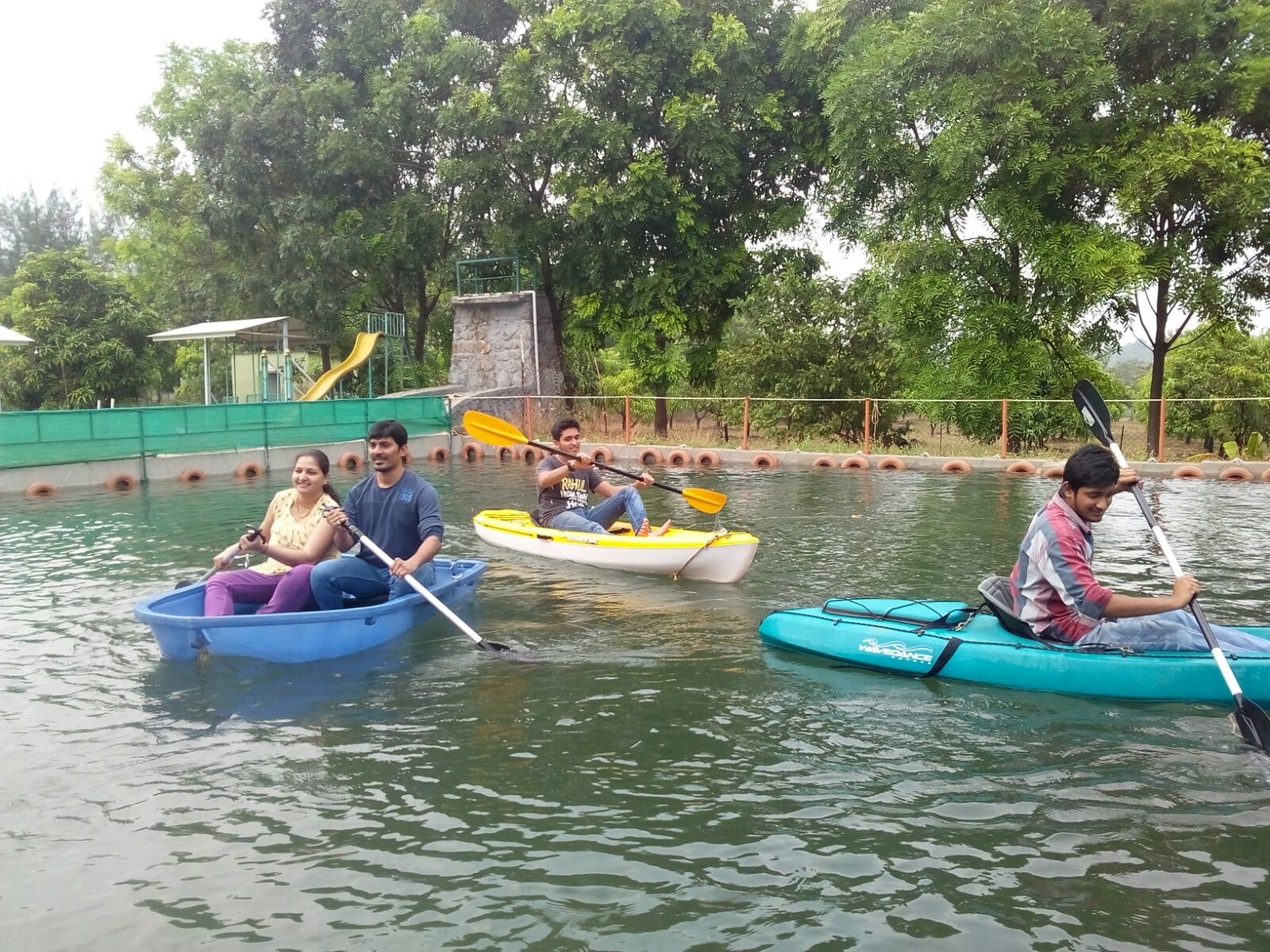 Boating & Kayaking in Dirghayu Farms