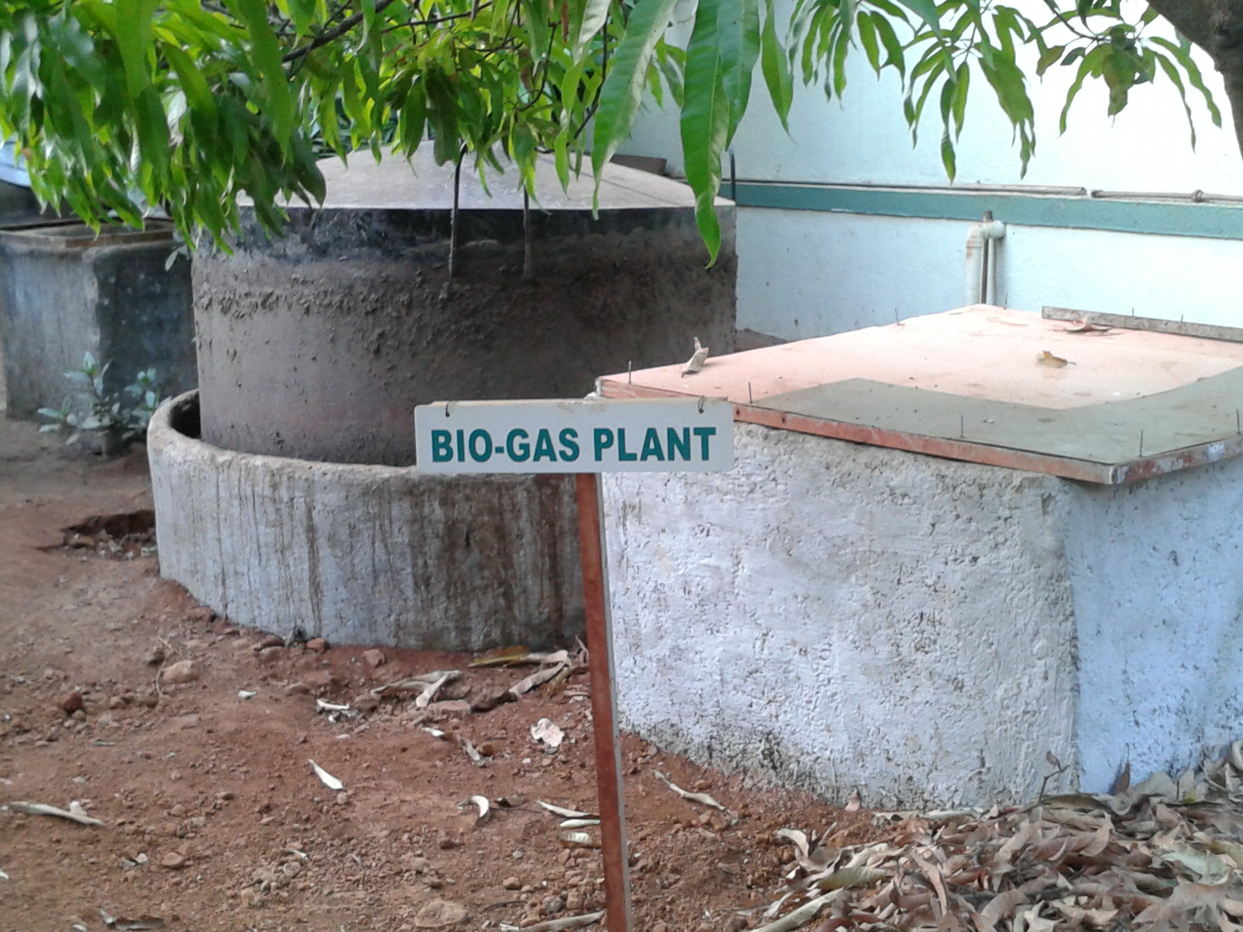 BIO-GAS PLANT in Dirghayu Farms