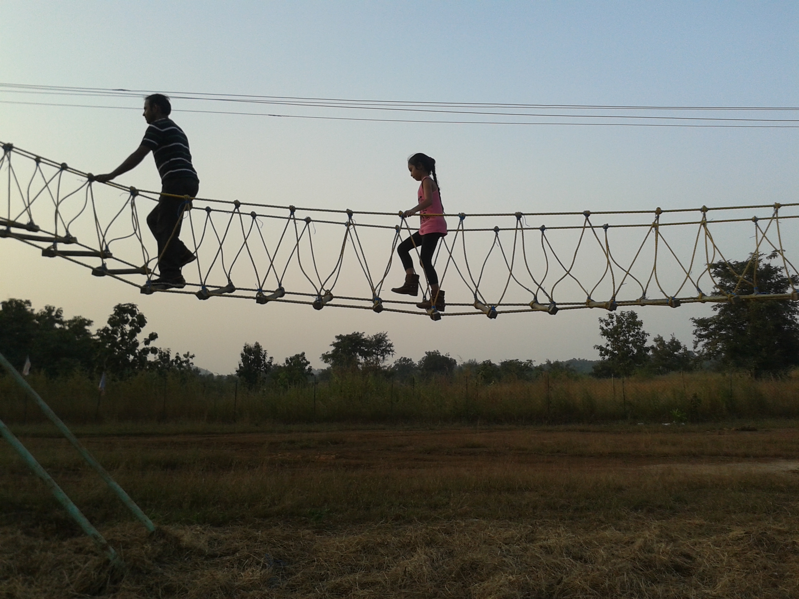 BURMA BRIDGE in Dirghayu Farms