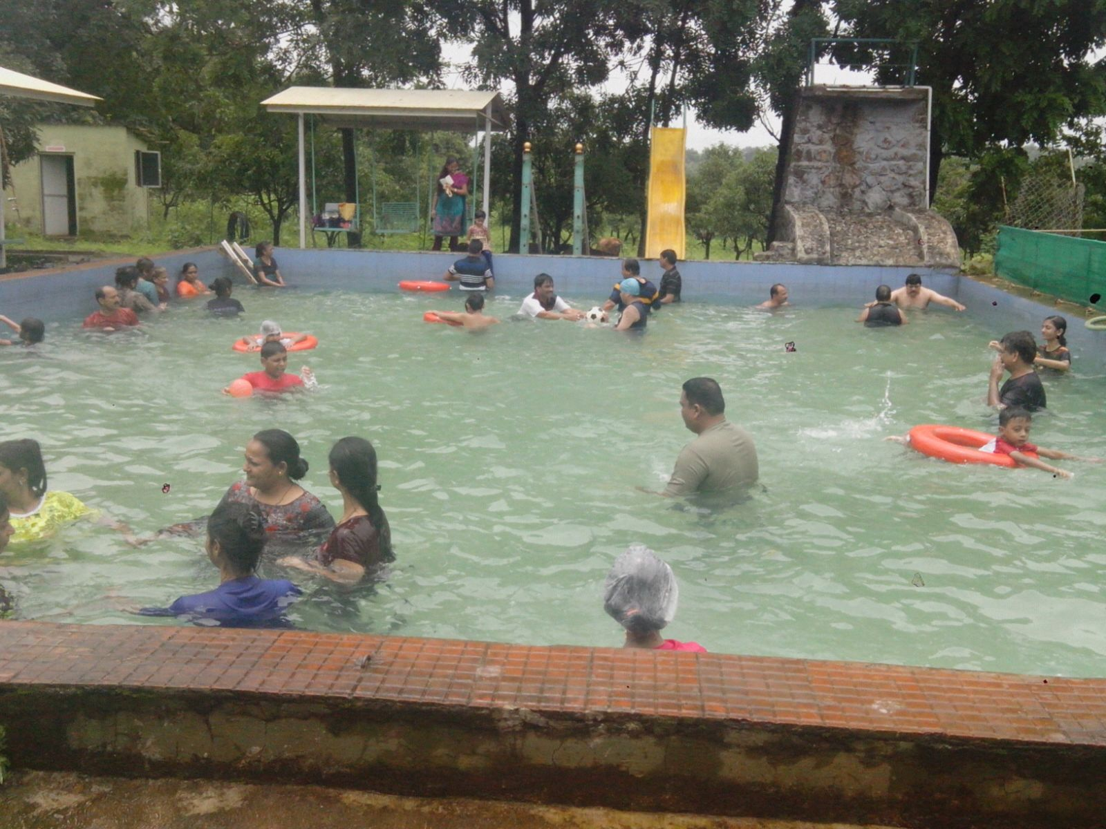 SWIMMING  POOL in Dirghayu Farms